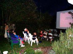 Outdoor Movie Theater!