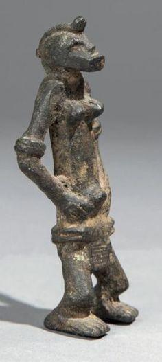 Art Afrikanisch Arts Primitive Großartig Leopard Aus Bronze Akan Ashanti 12 Cm Keep You Fit All The Time Art