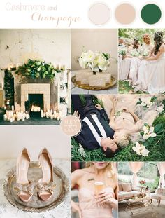 Cashmere and Champagne - Elegant Warm Neutral Wedding Inspiration from Hey Wedding Lady