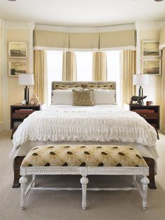 Alsp neutral, basic, lacking color. #hisstyle #tempurpedic #choiceisyours #inspiration #designsponge Contemporary | Bedrooms | Anna Williams : Designers' Portfolio : HGTV - Home & Garden Television