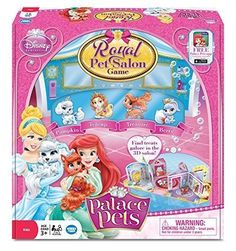 Disney Children Board Games Palace Royal Pet Salon Board Game by Wonder Forge -- Click image to review more details.