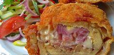 Érdekel a receptje? Kattints a képre! Hungarian Recipes, Diy Food, Bon Appetit, Lasagna, Bacon, Sandwiches, Goodies, Food And Drink, Tasty