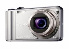 Sony Cyber-shot DSC-H55 14.1MP Digital Camera with 10x Wide Angle Optical Zoom with SteadyShot Image Stabilization and 3.0 inch LCD (Silver) by Sony. $229.99. From the Manufacturer                 The DSC-H55's 10x wide (25mm equivalent) lens takes better shots from greater distances and wider landscapes in a compact body. Take breathtaking panoramic shots in one sweeping motion with Sweep Panorama mode and review them on a 3.0-inch LCD screen. Minimize blur with Optic...