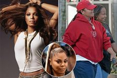 Janet Jackson  Janet might have been at her peak as a singer and a dancer in the 1980s, but she still looked like herself until a couple of years ago. Yet recently she turned almost unrecognizable, as her weight gain made her face look puffy. No doubt that the famous Jackson features are still there, but she looks like a whole new sister we've never seen before.