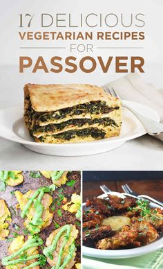 25 Passover Mains With No Meat Passover Passover Recipes