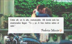Tres metros sobre el cielo, Federico Moccia♥ Decir No, Tv Shows, Tumblr, Sayings, Sentences, Quotes, Books, Movies, Amor