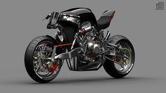 Radical 'Fallout' Concept Bike