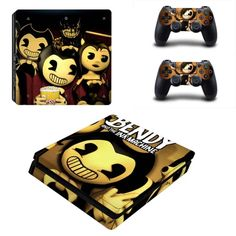 Bendy And The Ink Machine Ps4 Slim Skin Bendy The Ink Machine