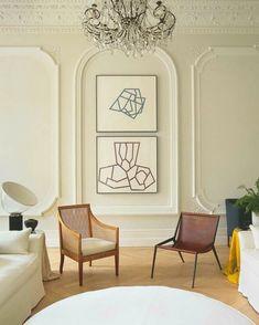 Quiet cool. Alex Corchrane's amazing London home.