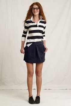 37ffe7ef04b Canvas Women s Cord Mini Skirt from Lands  End