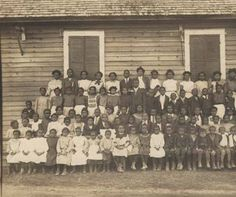 """""""A fair sample of one of the small colored public schools of Lowndes County, with only one teacher."""" :: Alabama Photographs and Pictures Collection"""