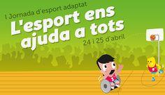 I Jornada d'esport adaptat. Barcelona. Hospital Sant Joan de Déu, 25 d'abril de 2015