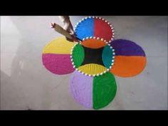 Sanskar Bharti Rangoli Design (NEW) - YouTube