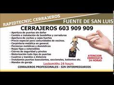CERRAJEROS FUENTE DE SAN LUIS VALENCIA 603 909 909