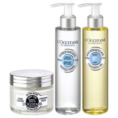 This comforting trio will soothe and protect your beautiful skin from the cold…