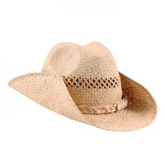 Little Fashion Gallery Stetson cowboy hat with shells