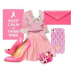 """""""pink"""" by danielle-lyn on Polyvore"""