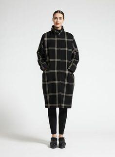 Ronski coat (black, sand)  Clothing, Women, Jackets & Coats   Marimekko