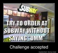 after working there for 5 years i still do this!!!! hahaha