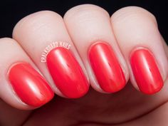 Nailbox SS'14 Trendbox Curated by All Lacquered Up  LVX - Roux is a sizzling coral shade perfect for summer. I only recently tried out LVX for the first time and have been enjoying their polishes a lot. This one is no exception, needing just two easy coats for full coverage.
