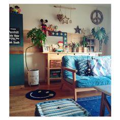 kumanaさんの、星条旗,グリーンのある暮らし,IKEA ,WTW,星条旗 ミラー,スヌーピー,DIY,リビング,のお部屋写真