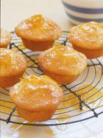 Lemoen en joghurt muffins