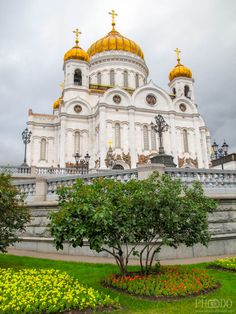 Cathedral of Christ the Saviour in Moscow (Khram Khrista Spasitelya)  Phodo-Passion Photography - Architecture and Landscape