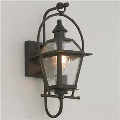 Charleston Outdoor Wall Lantern. 1 for outside the fireplace room door.