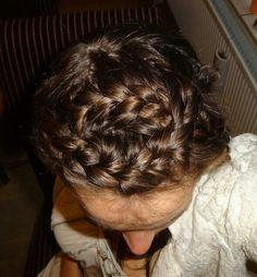 Crossing braids