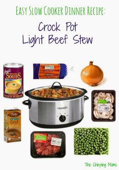 The Chirping Moms: Friday Favorites: Easy Crock Pot Light Beef Stew