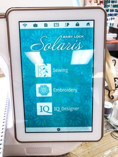 19 Best BabyLock Solaris images in 2019 | Machine embroidery