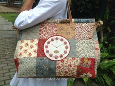 Bolso patchwork XL
