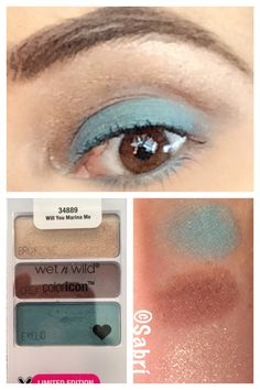 #eotd: #wetnwildbeauty #limitededition #spring2017 #willyoumariname, #turquoise. #LOVE! #Beauty #Belleza #Bellezza #Beauté #Beleza #Cosmetics #Cosméticos #Cosmetici #produitsdebeaute #Makeup #Maquillaje #maquillage #maquiagem #fabat40.
