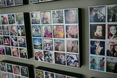 "Great project from http://on.fb.me/1qToM57 using 3x3"" #instagramprints. 25¢/ea - www.foxgram.com"