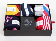 Alfredo Gonzales - Neo-trad striped and argyle socks for skaters and professionals