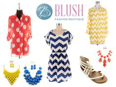 Blush Fashion Boutique Pin It Quick Giveaway | How Does She...