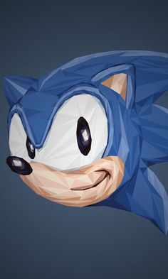 Simon Delart - Video Games Portraits Sonic