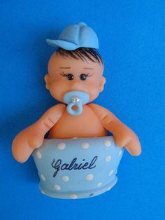 Lembrança bebê no banho. Imã de geladeira R$ 3,60