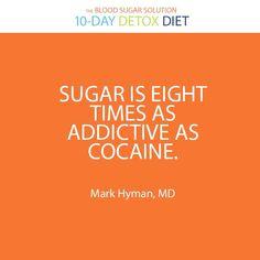 Sugar=bad!