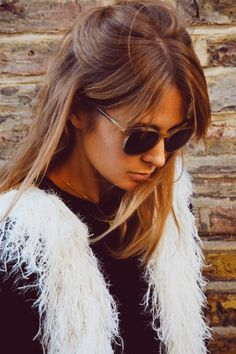 Millie Mackintosh Clips Her Warm Brown Tresses Into A Sweet Half-Up 'Do Out And About In London, 2014