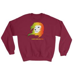 Rasta Lion - Sweatshirts | Simplest online print product marketplace in existence