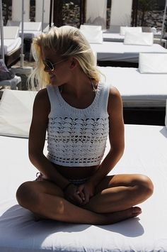 BYPEVICH - Tilde Crop Top