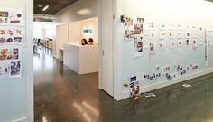 Have a giant wall (magnetic or whiteboard or cork board?) to put ideas. Creates a space of culture and creativity and allows everyone to know what's going on and feel connected to the Ove brand. MonoSpace_9