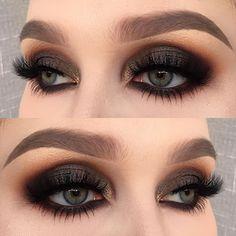 "helenesjostedt on Instagram: ""I used @limecrimemakeup Venus 2 palette (shadows: mustard, jam, boot, marsh and pigeon) | @inglot_cosmetics kohl pencil 03 and body sparkles 63 | @diamond_japney lashes desired | @anastasiabeverlyhills dipbrow pomade in taupe ✨ #mua #makeupjunkie #makeupaddict #makeuplover #wakeupandmakeup #fiercesociety #vegas_nay #venus2 #limecrimemakeup #fot"""