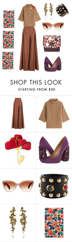 """""""Untitled #328"""" by stasi1207 ❤ liked on Polyvore featuring Zimmermann, MaxMara, Marni, Dsquared2, Oliver Peoples, Chanel, Annoushka, Threshold and Elie Saab"""