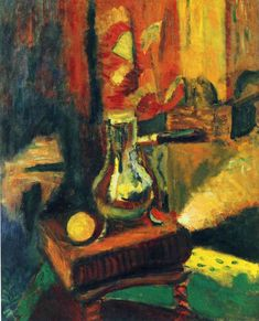 Still Life with Chocolate Pot  - Henri Matisse