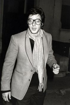 Pacino circa 1979, love that this outfit and accessories could be from a magazine today