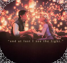 Tangled! Love this part!!! But then, I love all the parts...