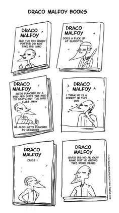 The books according to Draco Malfoy
