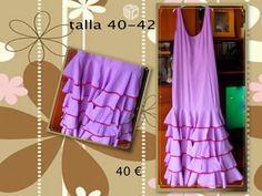 Foto de Vestido de flamenca mujer talla 40-42